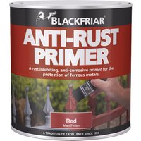 Blackfriar Anti Rust Primer & Undercoat for Metal Red 1l