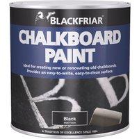Blackfriar Chalkboard Paint for Renovating or Creating Chalkboards Black 125ml