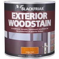 Blackfriar Traditional Exterior Woodstain Golden Teak 1l