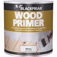 Blackfriar Wood Primer White 250ml