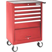 Britool Expert 5 Drawer Tool Roller Cabinet Red