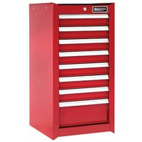 Britool 8 Drawer Tool Cabinet Red