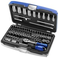 Britool 73 Piece 1/4 Drive Hex, Bi Hex Socket & Screwdriver Bit Set Metric 1/4