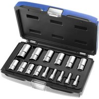 Britool 15 Piece 3/8 Drive Deep Hex Socket Set Metric 3/8