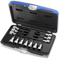 Britool 13 Piece 1/2 Drive Hex Socket Bit Set Metric 1/2
