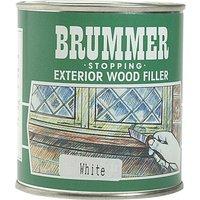 Brummer Green Label Exterior Stopping Wood Filler Natural Oak 625g