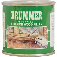 Brummer Green Label Exterior Stopping Wood Filler Natural Oak 225g