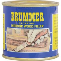 Brummer Yellow Label Interior Stopping Wood Filler Standard 250g