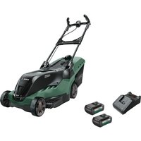 Bosch ADVANCEDROTAK 36-650 36v Cordless Rotary Lawnmower 420mm 2 x 2ah Li-ion Charger