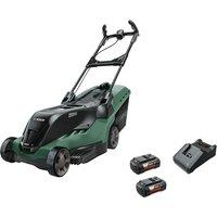 Bosch ADVANCEDROTAK 36-650 36v Cordless Rotary Lawnmower 420mm 2 x 4ah Li-ion Charger