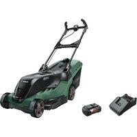 Bosch ADVANCEDROTAK 36-750 36v Cordless Rotary Lawnmower 460mm 1 x 4ah Li-ion Charger