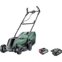 Bosch CITYMOWER 18v Cordless Rotary Lawnmower 340mm 1 x 2.5ah Li-ion Charger