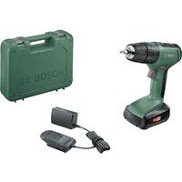 Bosch UNIVERSALIMPACT 18v Cordless Combi Drill 1 x 1 5ah Li ion Charger Case