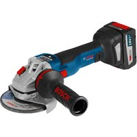 Bosch GWS 18 V-125 SC 18v Cordless Brushless Angle Grinder 125mm 2 x 6.3ah Li-ion Charger Case