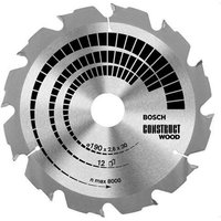 Bosch Construct Wood Cutting Table Saw Blade 500mm 36T 30mm