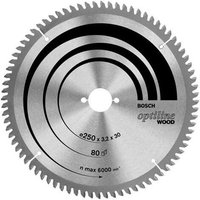 Bosch Multi Material Cutting Mitre & Table Saw Blade 216mm 60T 30mm