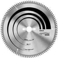 Bosch Optiline Wood Cutting Table Saw Blade 315mm 48T 30mm