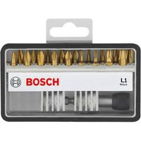 Bosch 19 Piece L Max Grip Screwdriver Bit Set