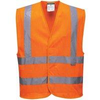 Portwest MeshAir Class 2 Hi Vis Waistcoat Orange 2XL / 3XL