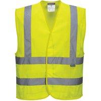 Portwest MeshAir Class 2 Hi Vis Waistcoat Yellow 2XL / 3XL
