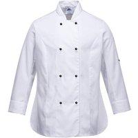 Portwest Ladies Rachel Chefs Jacket White XS