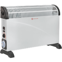 Sealey CD2005TT Electric Turbo Fan Convector Heater with Timer 240v