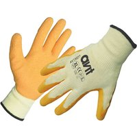 Avit Latex Coated Gloves Orange XL Pack of 1