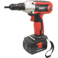 Sealey CP315 18v Cordless Nut Riveter and Impact Driver 1 x 3ah Li ion Charger Case