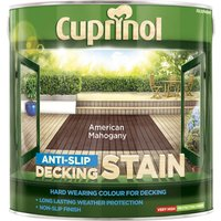 Cuprinol Anti Slip Decking Stain American Mahogany 2.5l