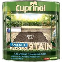Cuprinol Anti Slip Decking Stain Boston Teak 2.5l