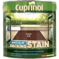 Cuprinol Anti Slip Decking Stain Cedar Fall 2.5l