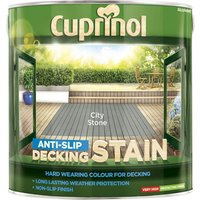 Cuprinol Anti Slip Decking Stain City Stone 2.5l