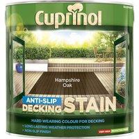 Cuprinol Anti Slip Decking Stain Hampshire Oak 2.5l