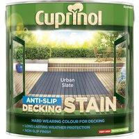 Cuprinol Anti Slip Decking Stain Urban Slate 2.5l