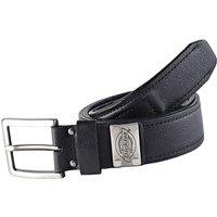 Dickies Mens Rockland Leather Belt Black XL