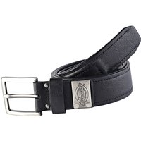 Dickies Mens Rockland Leather Belt Black M