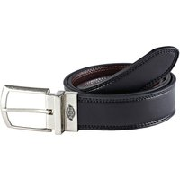 Dickies Mens Silverton Reversible Leather Belt Black / Brown L