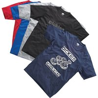 Dickies Mens Pack of 5 T Shirts Assorted S