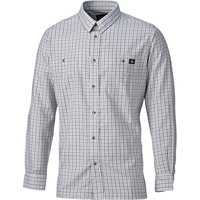Dickies Mens Tattersal Check Shirt Blue / Grey 2XL