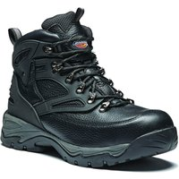Dickies Mens Preston Safety Boots Black Size 12