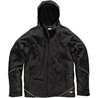 Dickies Mens Softshell Jacket Black 3XL