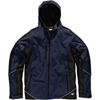 Dickies Mens Softshell Jacket Navy / Black L