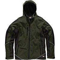 Dickies Mens Softshell Jacket Olive / Black XL
