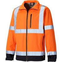 Dickies Gort Softshell Jacket Orange / Navy XL