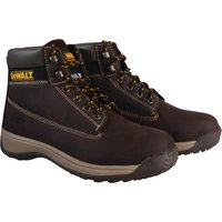 DeWalt Mens Apprentice Nubuck Safety Boots Brown Size 9