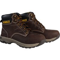 DeWalt Mens Carbon Safety Hiker Boots Brown Size 8