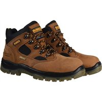 DeWalt Mens Challenger 3 Sympatex Safety Boots Brown Size 10