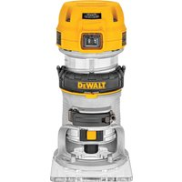 DeWalt D26200 Compact Fixed Base Router 1/4 110v