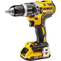 DeWalt DCD796 18v XR Brushless Cordless Combi Drill 1 x 2ah Li ion Charger Case