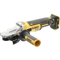 DeWalt DCG405FN 18v XR Cordless Brushless Flathead Angle Grinder 125mm No Batteries No Charger No Case